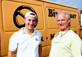 Vater und Sohn Birchbauer