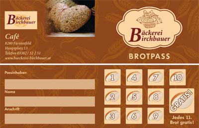 Birchbauer Brotpass