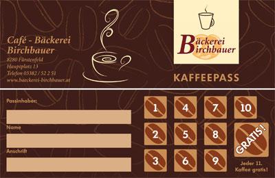 Kaffeepass Birchbauer
